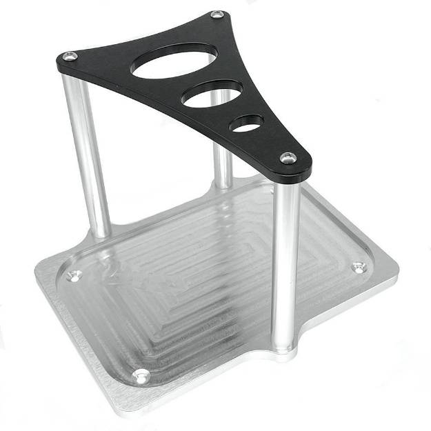 Picture of Billet Aluminium Battery Tray For Optima Red and Yellow Top Batteries