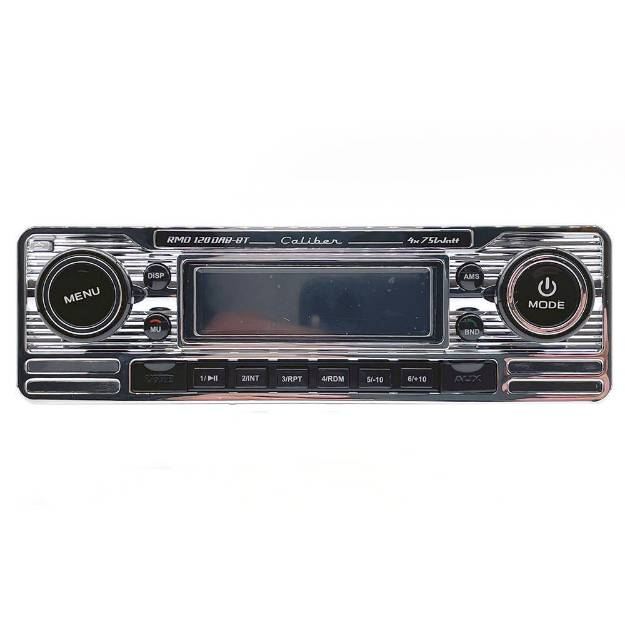 Picture of Classic Style DAB FM Radio Chrome Facia
