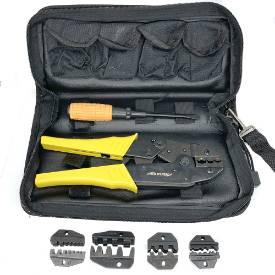 Bild von Multi-Jaw Crimping Tool Kit With Case