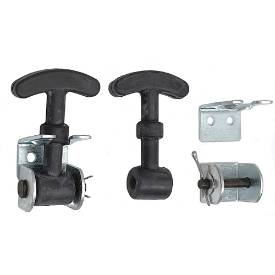 Picture of Small Rubber Bonnet/Boot Hook Kit 64mm Pair